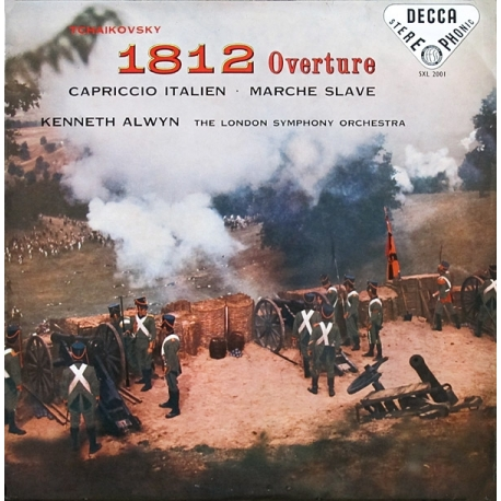 Tchaikovsky: 1812 Overture, The London Symphony Orchestra conducted by Kenneth Alwyn, HQ 180G SPEAKERS CORNER