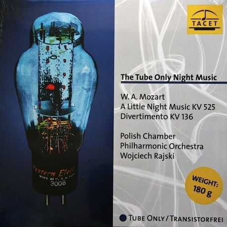 Mozart: The Tube Only Night Music, HQ 180g TACET | Tube Analogue Recording AAA
