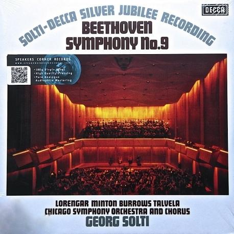 Beethoven: Symphony No.9 Georg Solti, 2LP HQ180G SPEAKERS CORNER 2002