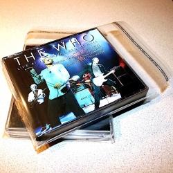 Okładka foliowa CD - zaklejana MULTIBOX | 10 szt.