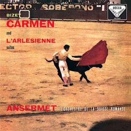 BIZET: Carmen and L'Arlésienne Suites, L'Orchestre De La Suisse Romande, HQ 180G SPEAKERS CORNER