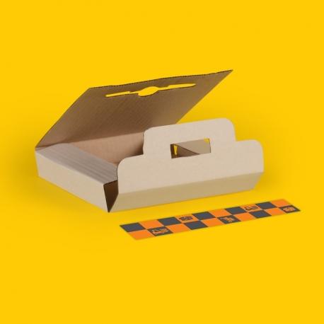 """Karton wysyłkowy 1-6 płyt 7"""" - pakiet 10 szt."""