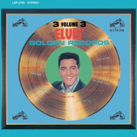 Elvis Presley – Elvis' Golden Records, HQ180G Speakers Corner 2006