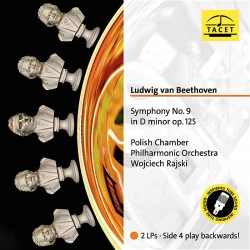 Beethoven: Symphony No.9 2LP HQ 180g TACET TUBE ANALOGUE RECORDING AAA 2016