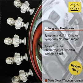 Beethoven: Symphony No.1&2 HQ 180g TACET TUBE ANALOGUE RECORDING AAA