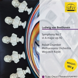 Beethoven: Symphony No.7 HQ 180g TACET TUBE ANALOGUE RECORDING AAA