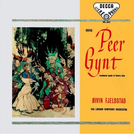 GRIEG: PEER GYNT - London Symphony Orchestra Conducted by ØIVIN FJELDSTAD, HQ180G SPEAKERS CORNER 1993