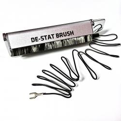 Szczoteczka antystatyczna węglowa Analogue Studio DE-STAT z kablem uziemiającym