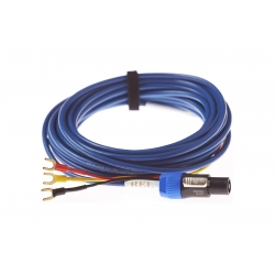 Kabel do subwoofera Rel Bassline Blue - 10 m