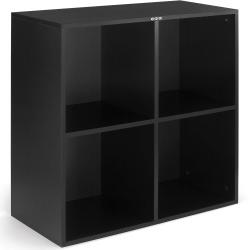 Regał na płyty LP (400 płyt) ZOMO VS-Box 400 Czarna