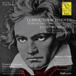 Beethoven: Concerto per violino e orchestra, Salvatore Accardo, LP HQ180G, Fone 2015