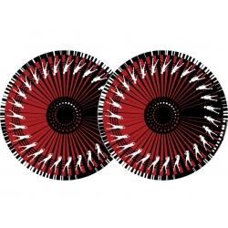 Mata Zomo Slipmats Dance - czerwona - dwupak