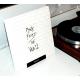"Stojak - prezenter MINI na LP - SISOUND ""Now Playing"" Black"
