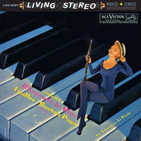 Gershwin: Rhapsody In Blue, Boston Pops, Arthur Fiedler, HQ 200G Analogue Productions U.S.A. 2013