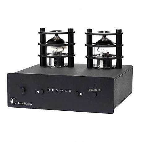 Przedwzmacniacz gramofonowy Pro-Ject Tube Box S2 Black