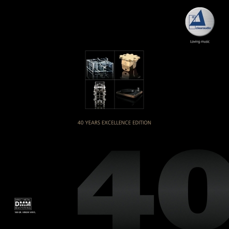 CLEARAUDIO 40 Years Excellence Edition, SAMPLER, Edycja Limitowana,2LP  HQ180g CLEARAUDIO 2018