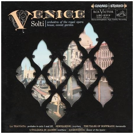 VENICE - Orchestra Of the Royal Opera House Covent Garden, Georg Solti, HQ200G, Analogue Productions U.S.A. 2016