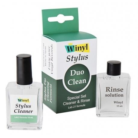 Szczoteczka i płyn do igły Winyl Stylus Duo Clean Lab-21