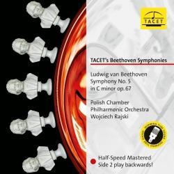 Beethoven: Symphony No.5, Polish Chamber Philharmonic Orchestra, W.Rajski,  HQ 180g, TACET 2017