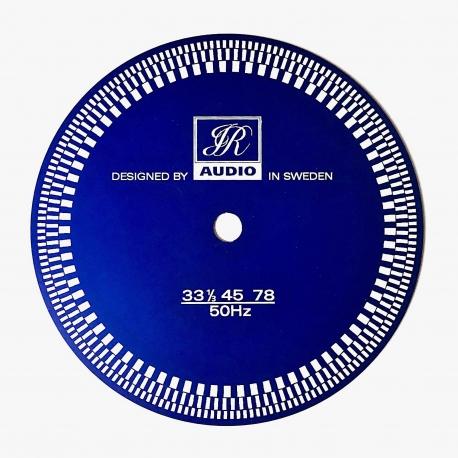 Mata stroboskopowa JR Audio w kasetce, niebieska