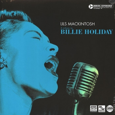 Lils Mackintosh - A Tribute To Billie Holiday, HQ180G, STS Digital, Holandia
