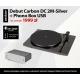 """Pro-Ject DEBUT Carbon DC Piano 2M Silver, przedwzmacniacz - """"SUPER PACK"""" Edycja specjalna 1999 pln"""