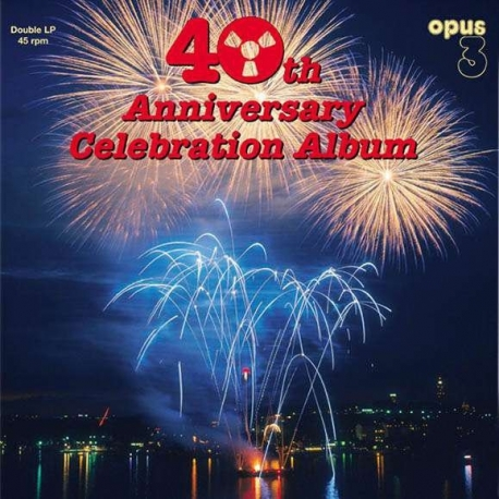 40th Anniversary Celebration Album, 2LP HQ180G 45RPM Stereo, OPUS 3, 2017