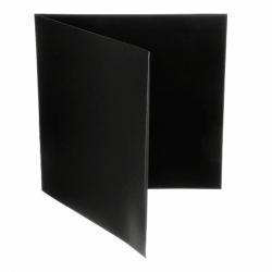 """Koperta kartonowa 12"""" rozkładana - GATEFOLD - czarna"""