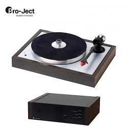 Pro-Ject The Classic SB Super Pack | Ortofon MC Quintet RED + Phono BOX DS2 WOOD