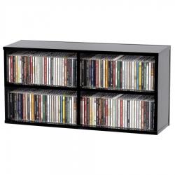 Półka na płyty CD Glorious CD BOX 180 - czarna
