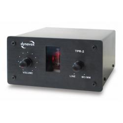 Przedwzmacniacz gramofonowy DYNAVOX TPR-2, lampowy | Czarny |