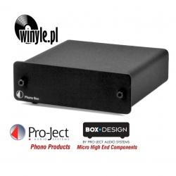 Przedwzmacniacz gramofonowy Pro-Ject Phono Box | black