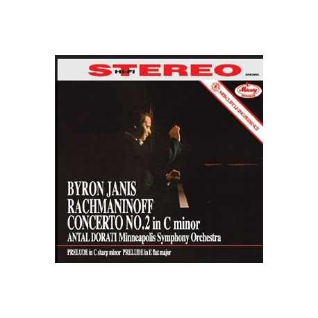 Rachmaninov: Piano Concerto No. 2 - Byron Janis, HQ 180g Speakers Corner