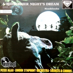 Mendelssohn: A Midsummer Night's Dream, HQ 180g Speakers Corner 1995