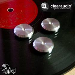 Podkładki pod kolce - antyrezonansowe CLEARAUDIO Flat Pad STAL komplet - 3szt.