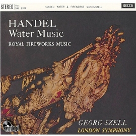 HANDEL: Water Music/Fireworks Music, London Symphony, HQ180G SPEAKERS CORNER 1994