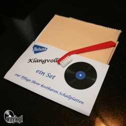 Szczoteczka do igły, Klangvoll + ściereczka LP