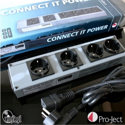Listwa zasilająca Pro-Ject Connect it Power 230V 16A - 6 gniazd