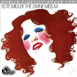 Bette Midler ‎– The Divine Miss M, Mobile Fidelity Silver Lab LP HQ160G U.S.A. 2011