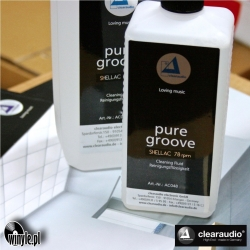 Płyn LP CLEARAUDIO Pure Groove SHELLAC, 0,5L