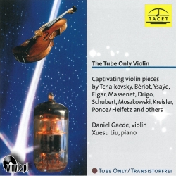 The Tube Only Violin, HQ 180g TACET | Tube Analogue Recording AAA
