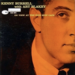 Kenny Burrell - At The Five Spot Cafe, Analogue Productions 2LP 45RPM HQ180G U.S.A. 2010