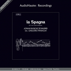 Gregorio Paniagua - La Spagna XV-XVI-XVII Centuries, 2LP HQ180G AudioNautes