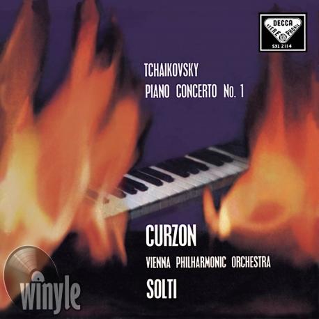 Tchaikovsky: Piano Concerto No. 1 - Clifford Curzon, HQ 180G SPEAKERS CORNER