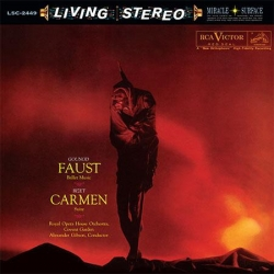 Gounod, Bizet - Faust - Ballet Music, Carmen - Suite, Royal Opera House Orchestra, HQ 200G LIVING STEREO 2014