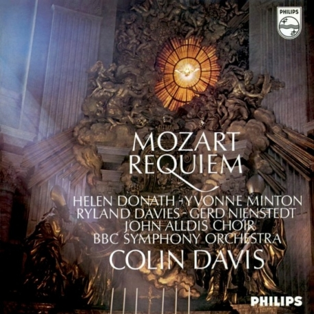 Mozart: REQUIEM - BBC Symphony Orchestra conducted by Colin Davis, HQ180G Speakers Corner