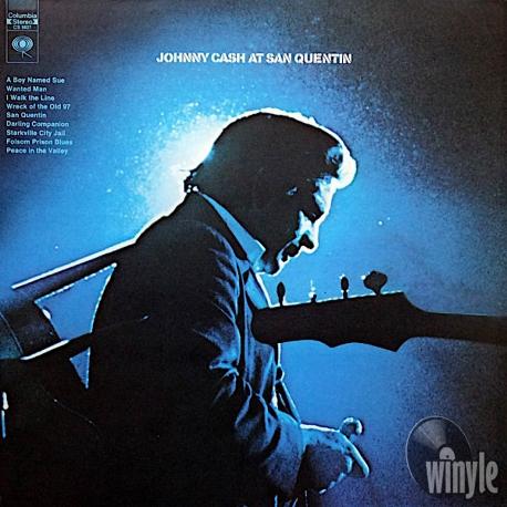 Johnny Cash - Johnny Cash At San Quentin, HQ 180g Speakers Corner