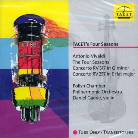 Vivaldi: The Four Seasons HQ 180g TACET | Tube Analogue Recording AAA