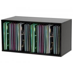Półka na płyty LP (230 płyt) | Czarna