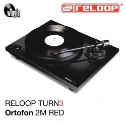 Gramofon RELOOP HiFi TURN 3 | Ortofon 2M RED
